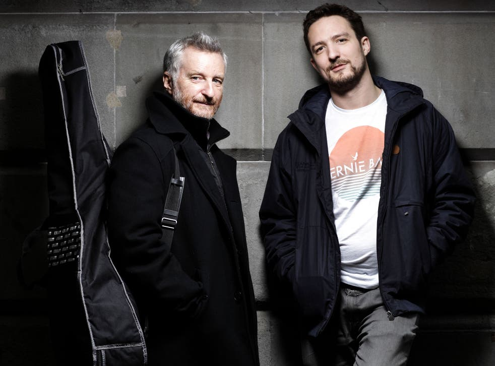 Billy Bragg and Frank Turner are combining their talents with two shows this week in support of the homelessness charity Shelter