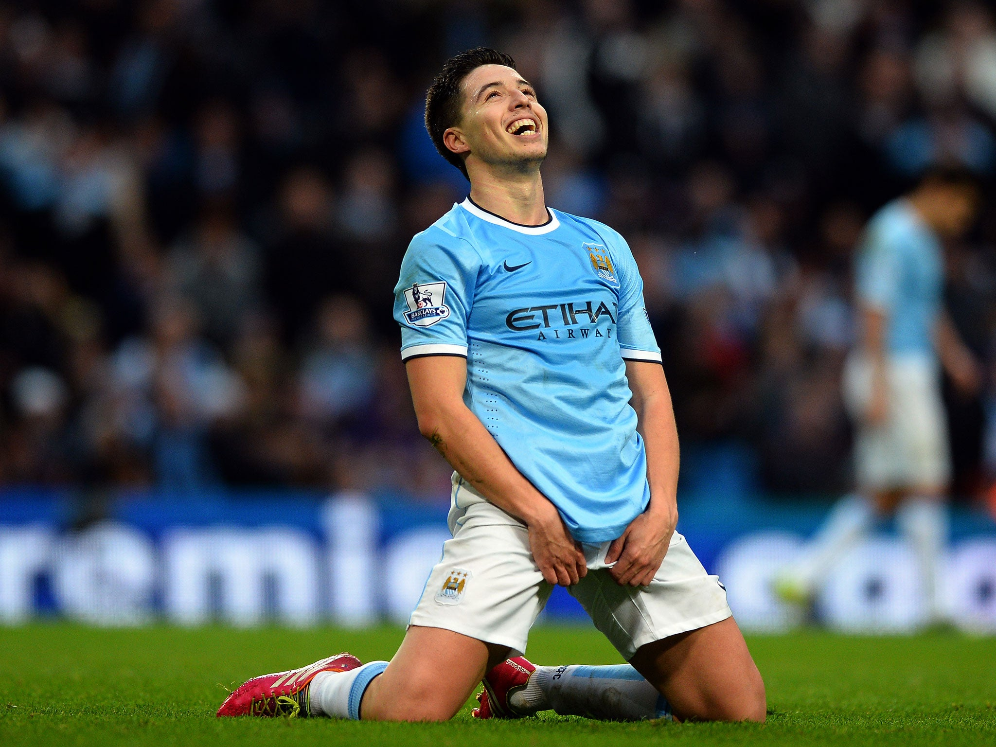 Arsenal v Manchester City Samir Nasri predicts hostile reception
