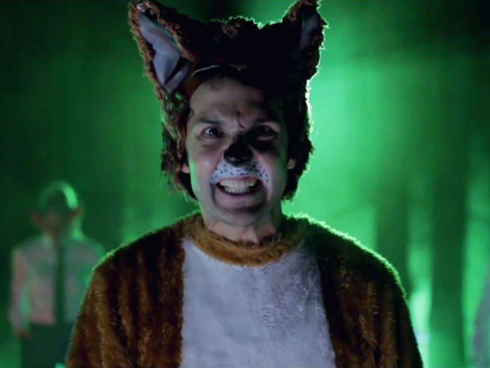 the music video for ylviss the fox what does the fox say - Christmas Light Show Youtube