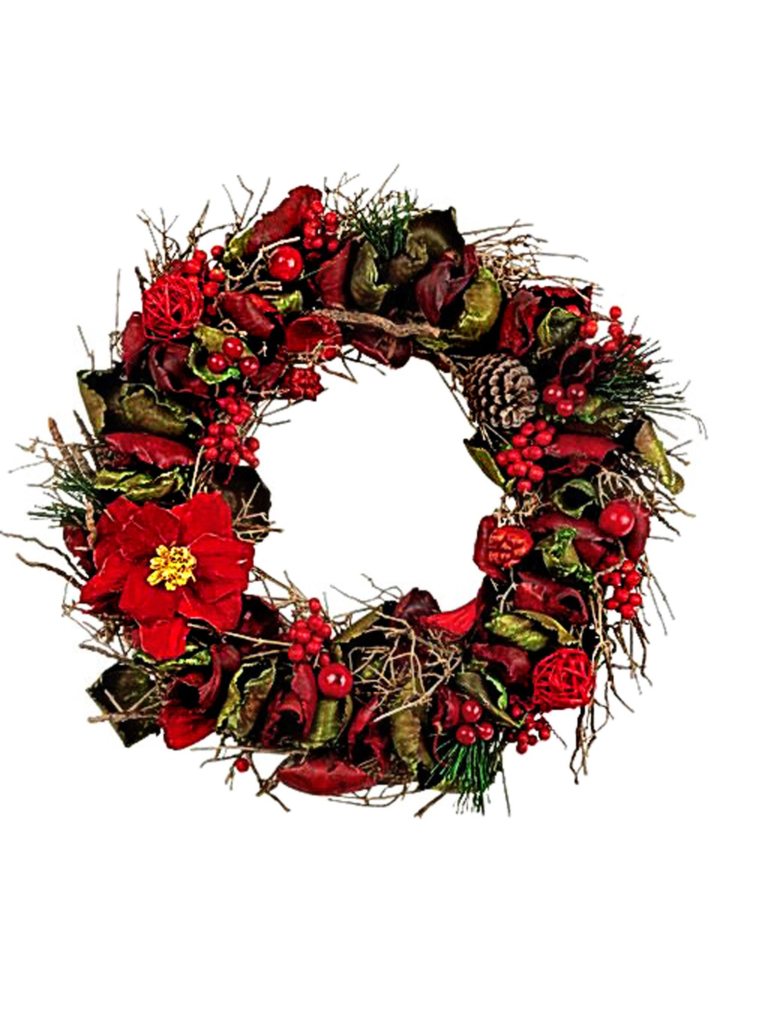 10 Best Christmas Wreaths The Independent