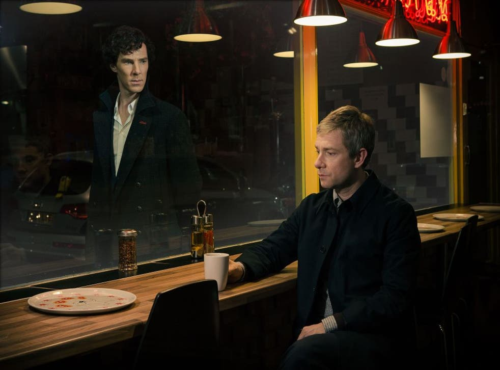 Benedict Cumberbatch and Martin Freeman star in Sherlock series three but the show might not be back for two years...