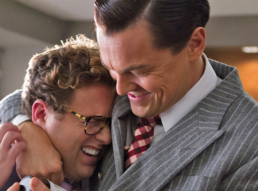 Jonah Hill and Leonardo DiCaprio in 'The Wolf of Wall Street'