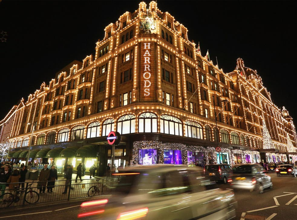 London – with its high-end shops such as Harrods – may no longer be an attractive destination