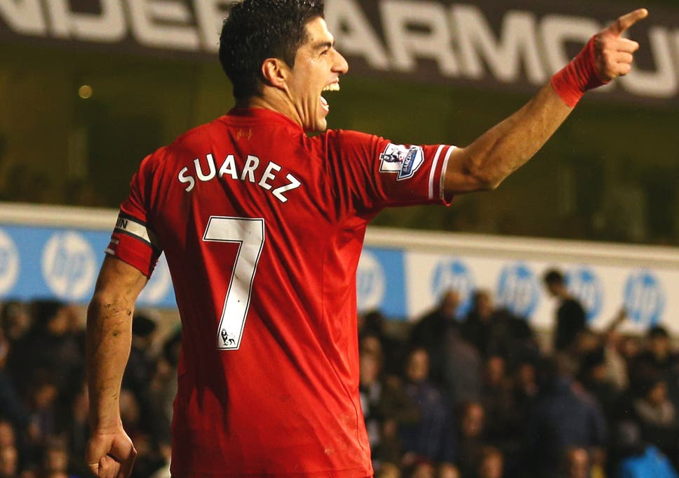 timeless design d482c c280e Luis Suarez signs new contract: The Liverpool striker by ...