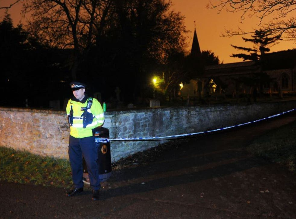 Thames Valley Police said the hunt for Jayden had led them to the Great Western Cemetery by All Saints' Church in Didcot, Oxfordshire