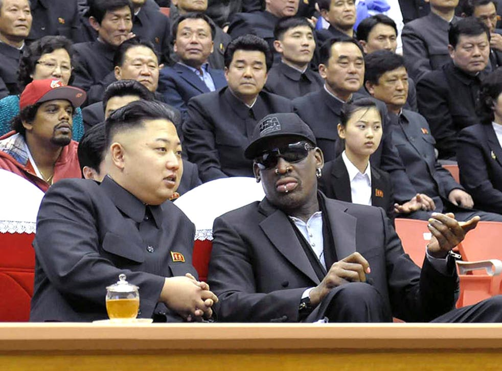 Former NBA star Dennis Rodman attended a basketball game with Kim Jong-Un in Pyongyang, earlier this year