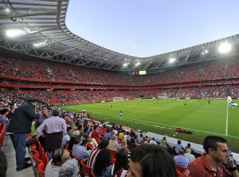 The San Mames Stadium in Bilbao was opened this year and cost £178m