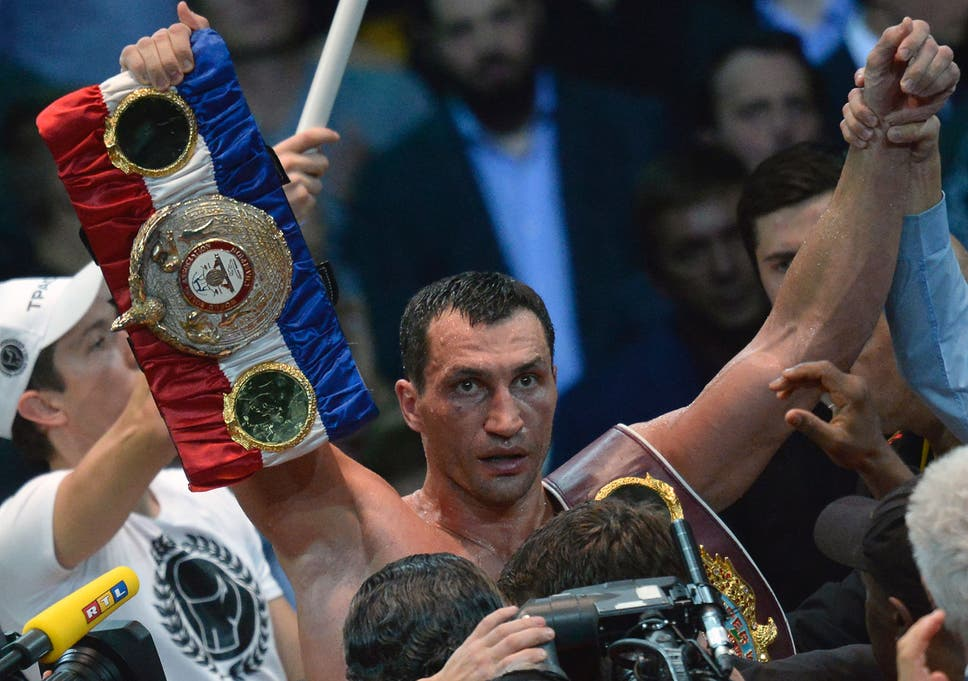 Boxing: Wladimir Klitschko sets his sights on becoming