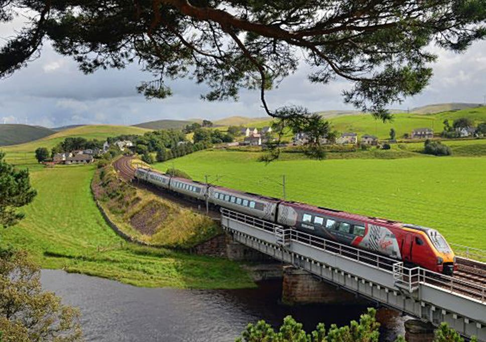 Virgin Trains passenger 'nearly fainted' when slapped with a