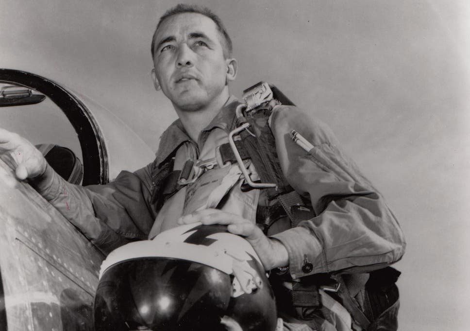 Brigadier General Robinson Risner Us Airman Who Served In Korea And