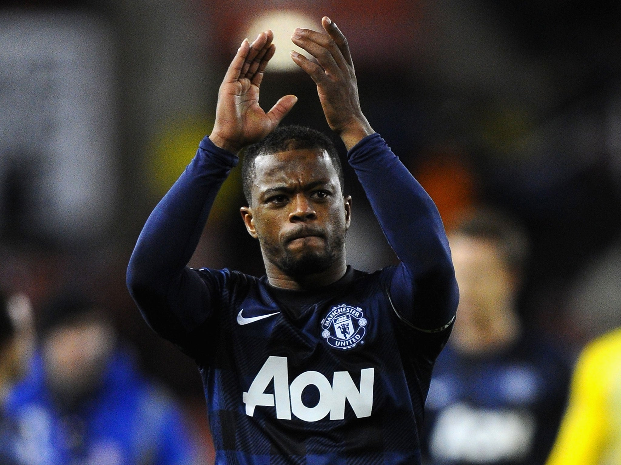 Manchester United v West Ham Patrice Evra identifies the spirit