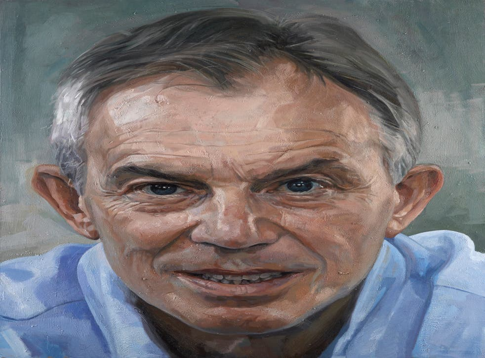 The National Portrait Gallery has commissioned a portrait of Tony Blair by Alastair Adams