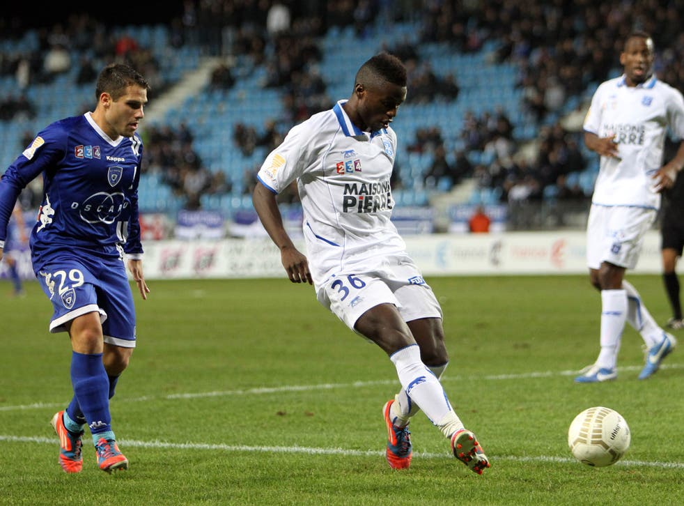 Auxerre's Paul-Georges Ntep