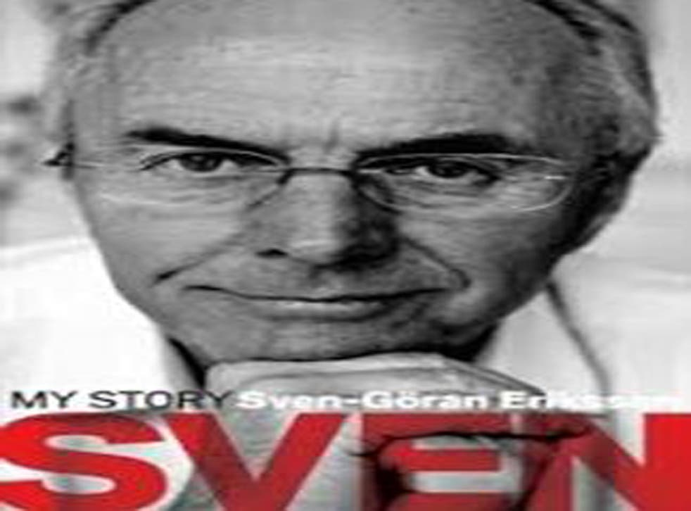Sven: My Story by Sven Goran Eriksson