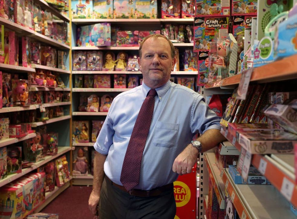 Potter off: Gary Grant's shops don't  stock any 'boy wizard' items