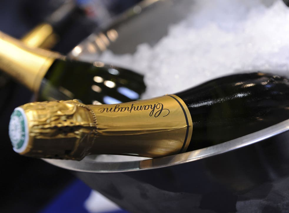 Sales of champagne – especially in Britain – have slumped for the second year in succession