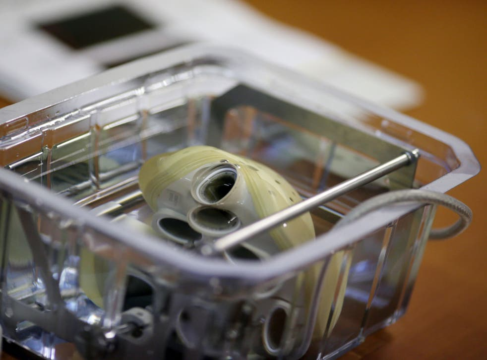 The artificial heart produced by Biomedical firm Carmat