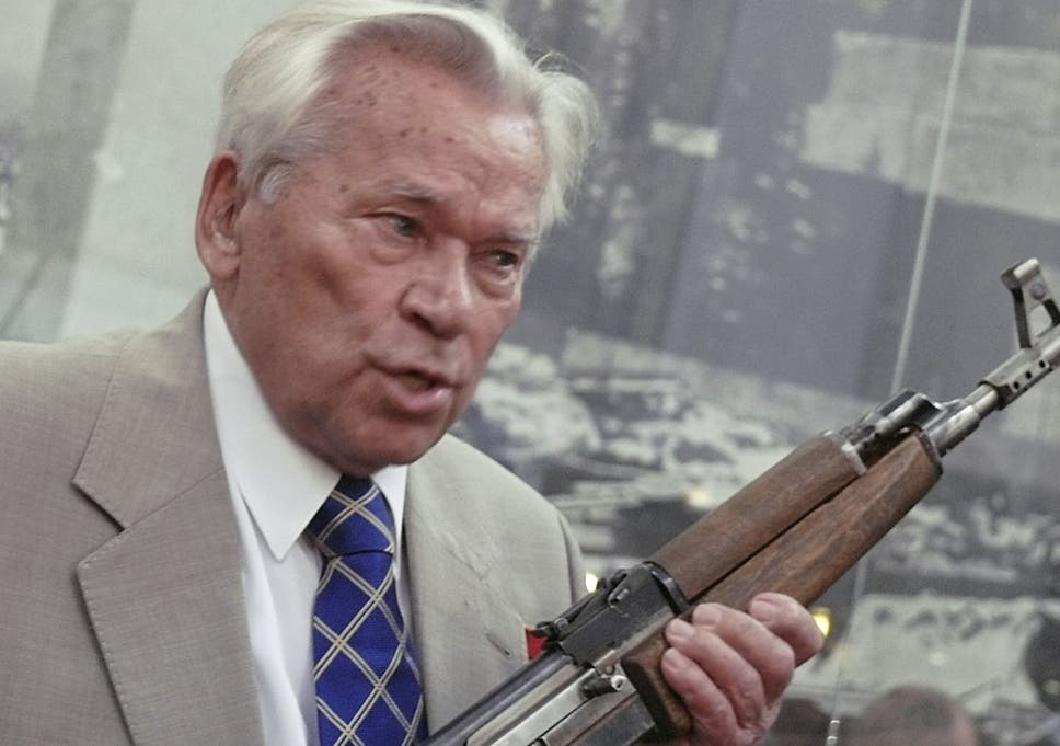 Mikhail Kalashnikov dies: Five quick-fire facts about the AK