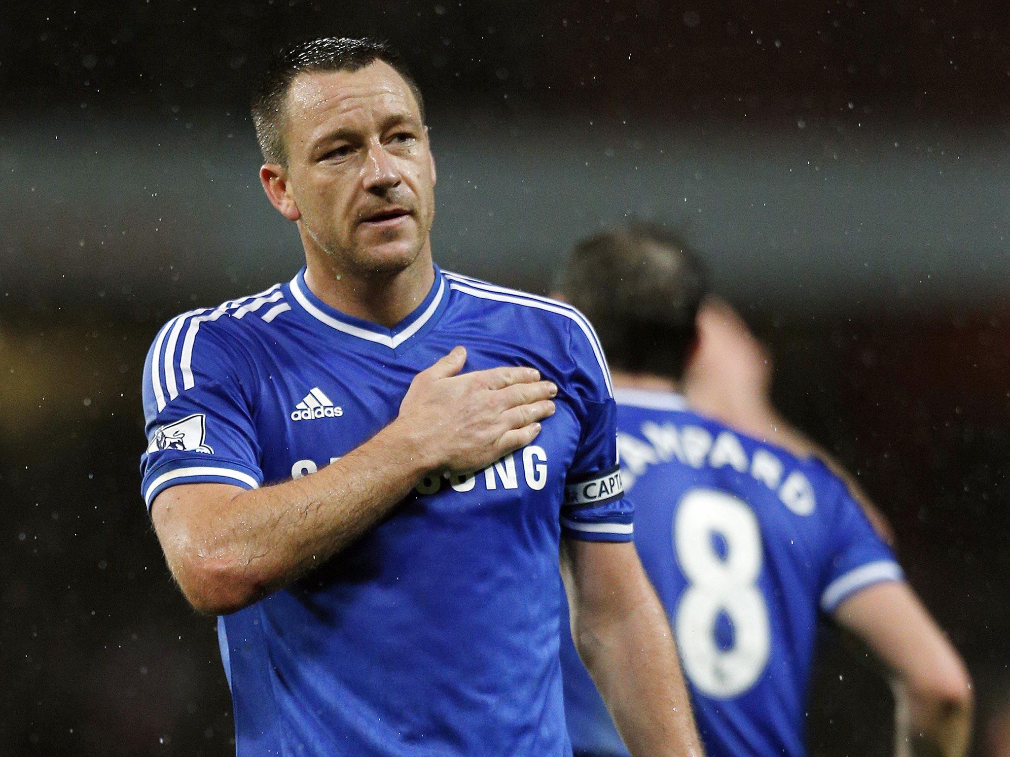 Chelsea v Swansea: John Terry eyes Chelsea 'pulling away from