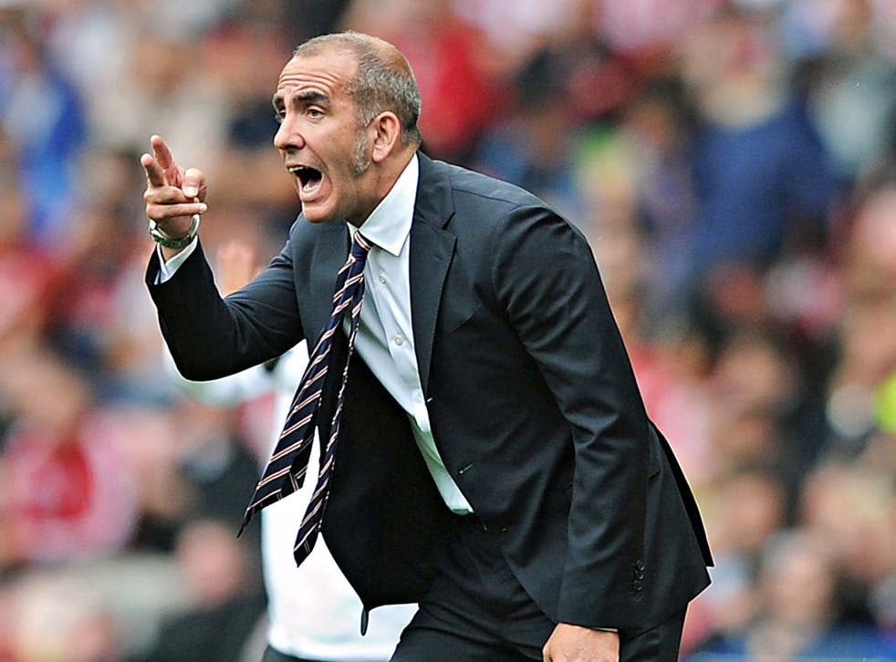 Paolo Di Canio said that if players turned up with mobile phones, he would throw them in the sea