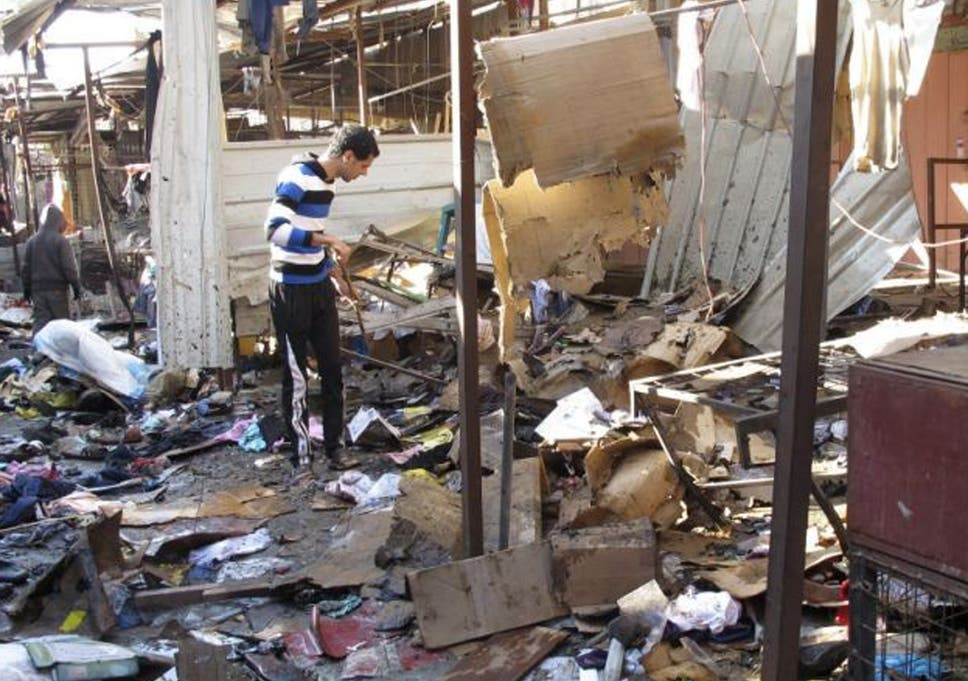the attacks bring the number of people killed so far in iraq this month to 441 - Christmas Bombings