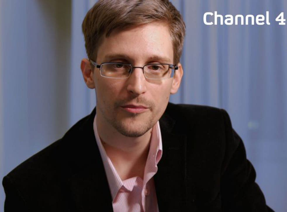 Edward Snowden delivered this year's Alternative Christmas Message on Channel 4