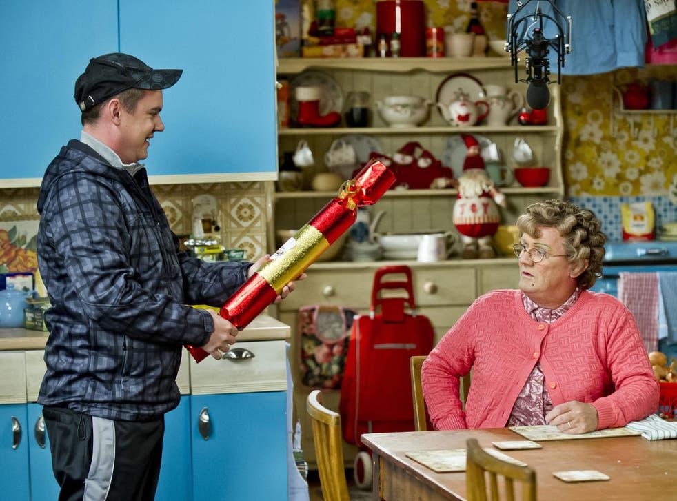 A festive scene from ratings winner Mrs Brown's Boys