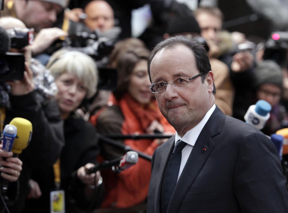 President Hollande's approval rating has fallen faster than that of any other French President in the Fifth Republic, with 3.5 million French people out of work