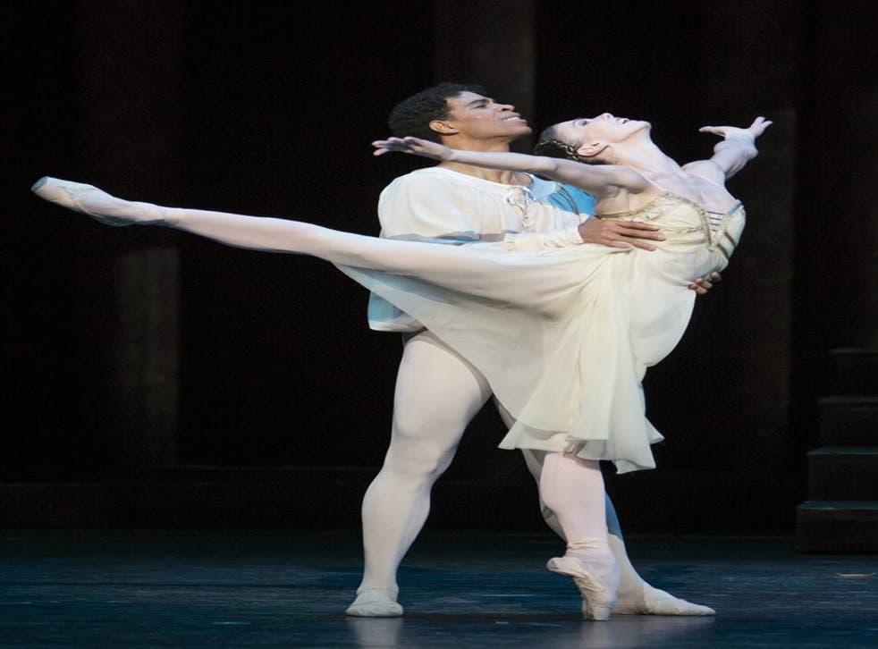 Natalia Osipova and Carlos Acosta in The Royal Ballet's 'Romeo and Juliet'