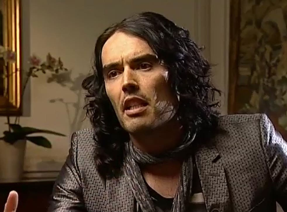 Russell Brand, who preached revolution on 'Newsnight'