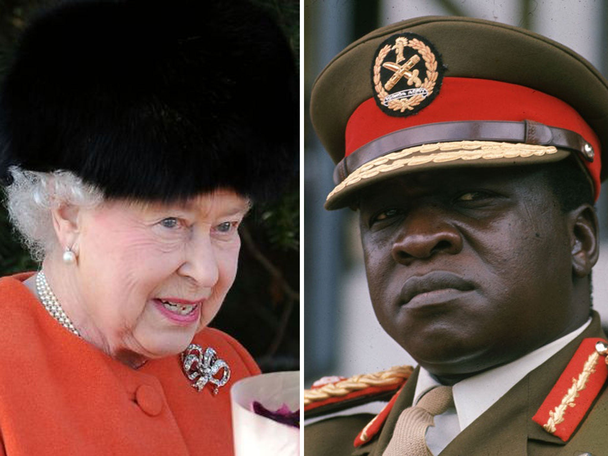 The Queen 'plotted to hit Idi Amin with a sword' if he