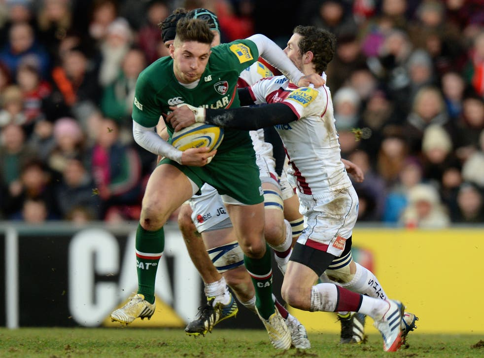 Leicester Tigers' Owen Williams