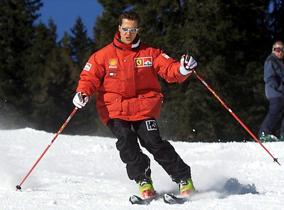 File: Seven-time Formula One world champion Michael Schumacher is reported to have suffered a serious head injury while skiing in the French Alps