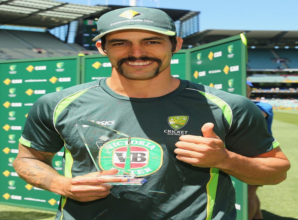 Mitchell Johnson has been transformed from figure of derision to a 31-wicket menace