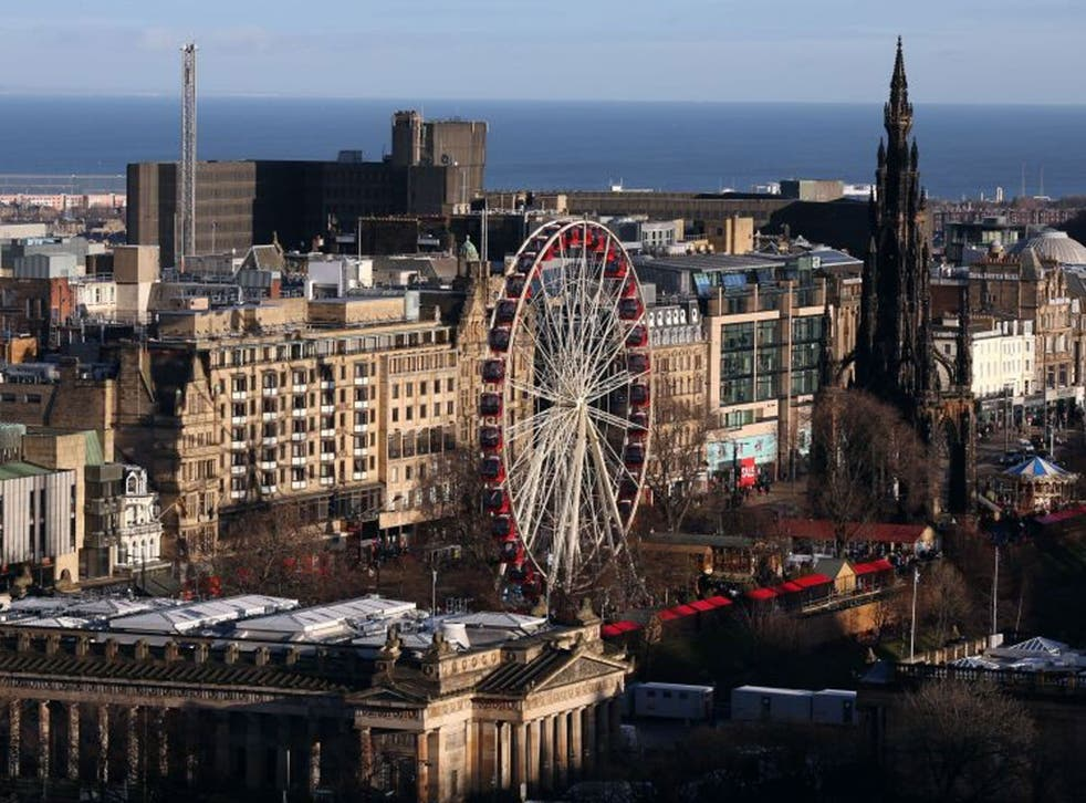Efficient transport links were cited as one of the reasons why Edinburgh might be the best location for budding entrepreneurs
