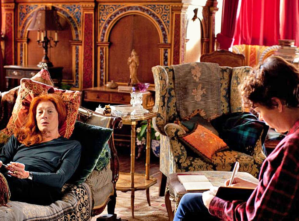 Pen pals: Vanessa Redgrave and Olivia Colman in 'The Thirteenth Tale'
