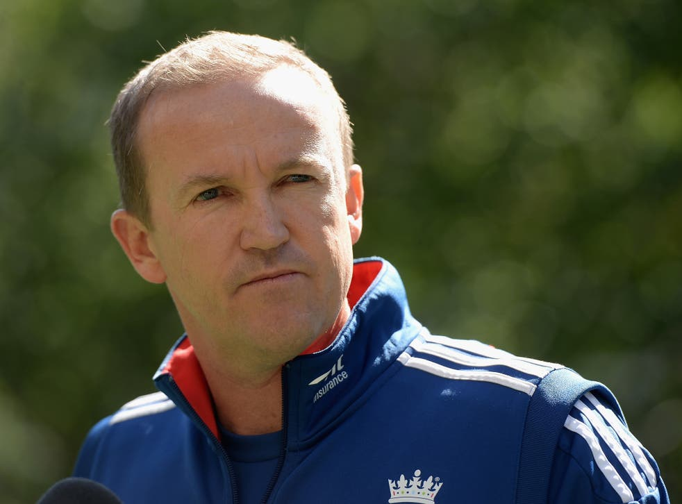 England coach Andy Flower admits that he wants to remain in charge of the side to face the challenge of a 'fresh cycle'