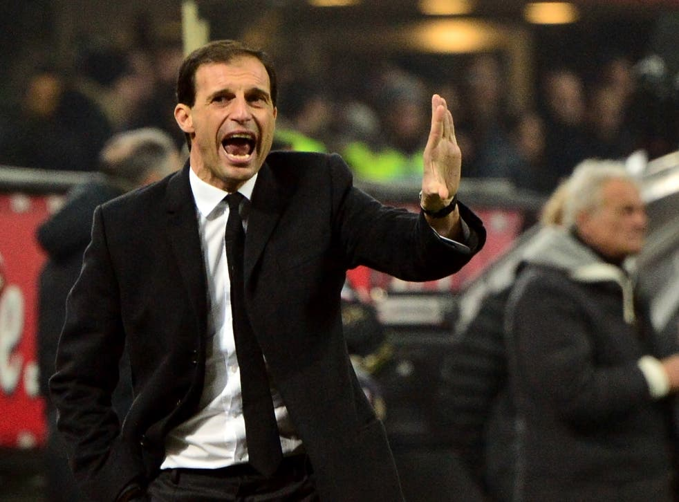 Massimiliano Allegri has confirmed he will be leaving AC Milan at the end of the season