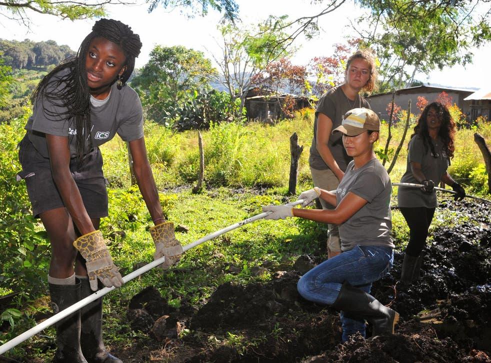 ICS volunteers in Nicaragua