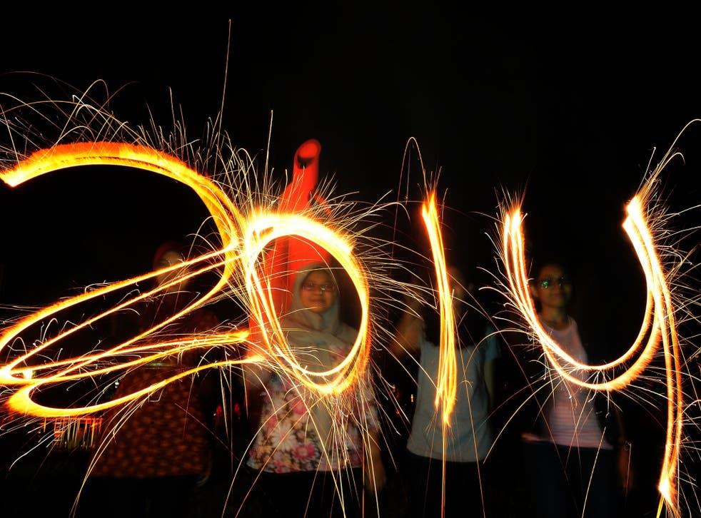A survey has found that on average people will give up on their New Year's resolutions just 24 days into 2014
