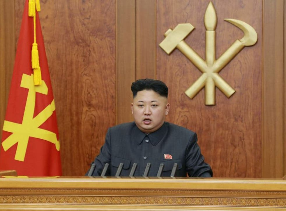 North Korean leader Kim Jong-un delivers his New Year address, saying the reclusive state's ruling party had become stronger after it was purged of 'factional filth'