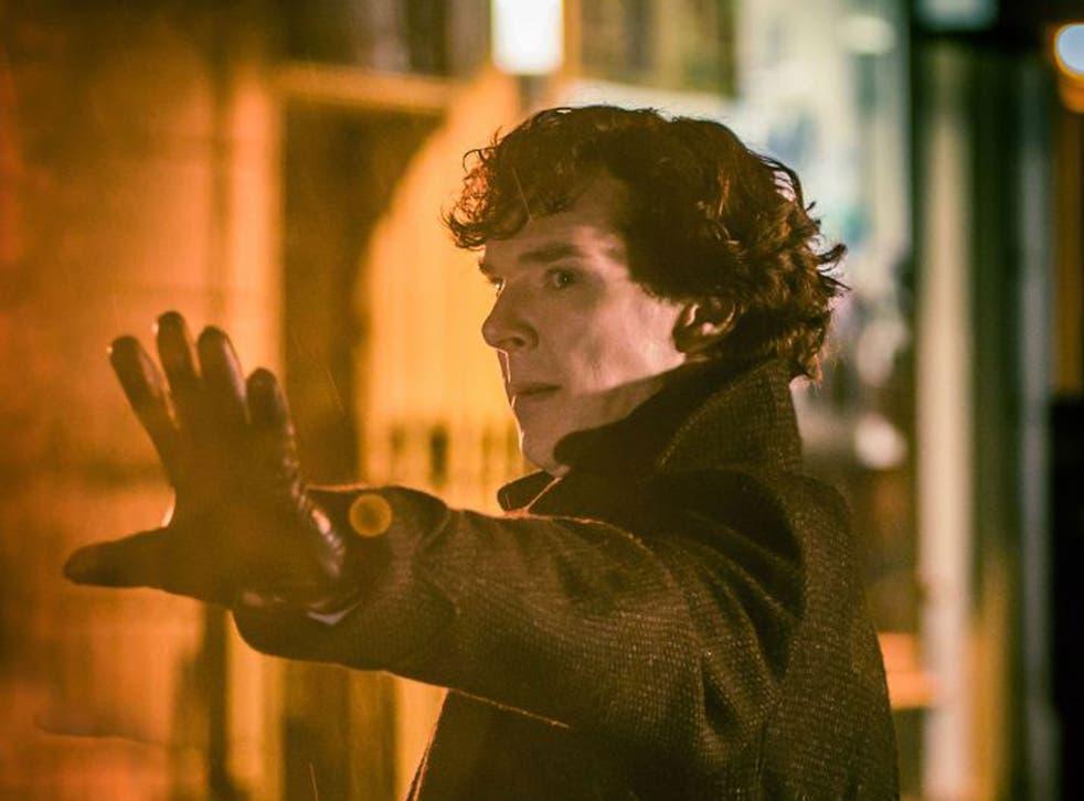Benedict Cumberbatch in the new season opener