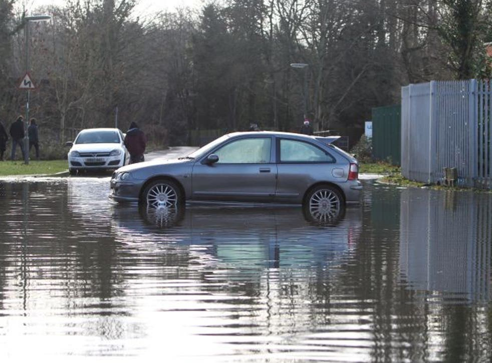 Many people faced a miserable Christmas Day in the wake of stormy weather with thousands either evacuated from their homes or left without power