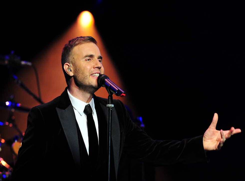 Gary Barlow performs at a concert in support of The Prince's Trust, 2011