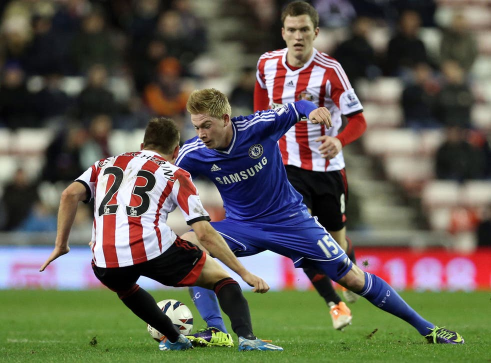 Chelsea midfielder Kevin De Bruyne has been valued at £25m by his club if any potential January transfer is to be completed