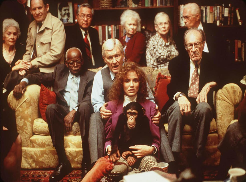 Orson Bean (center) and Cameron Diaz stars in the movie 'Being John Malkovich' (1999)