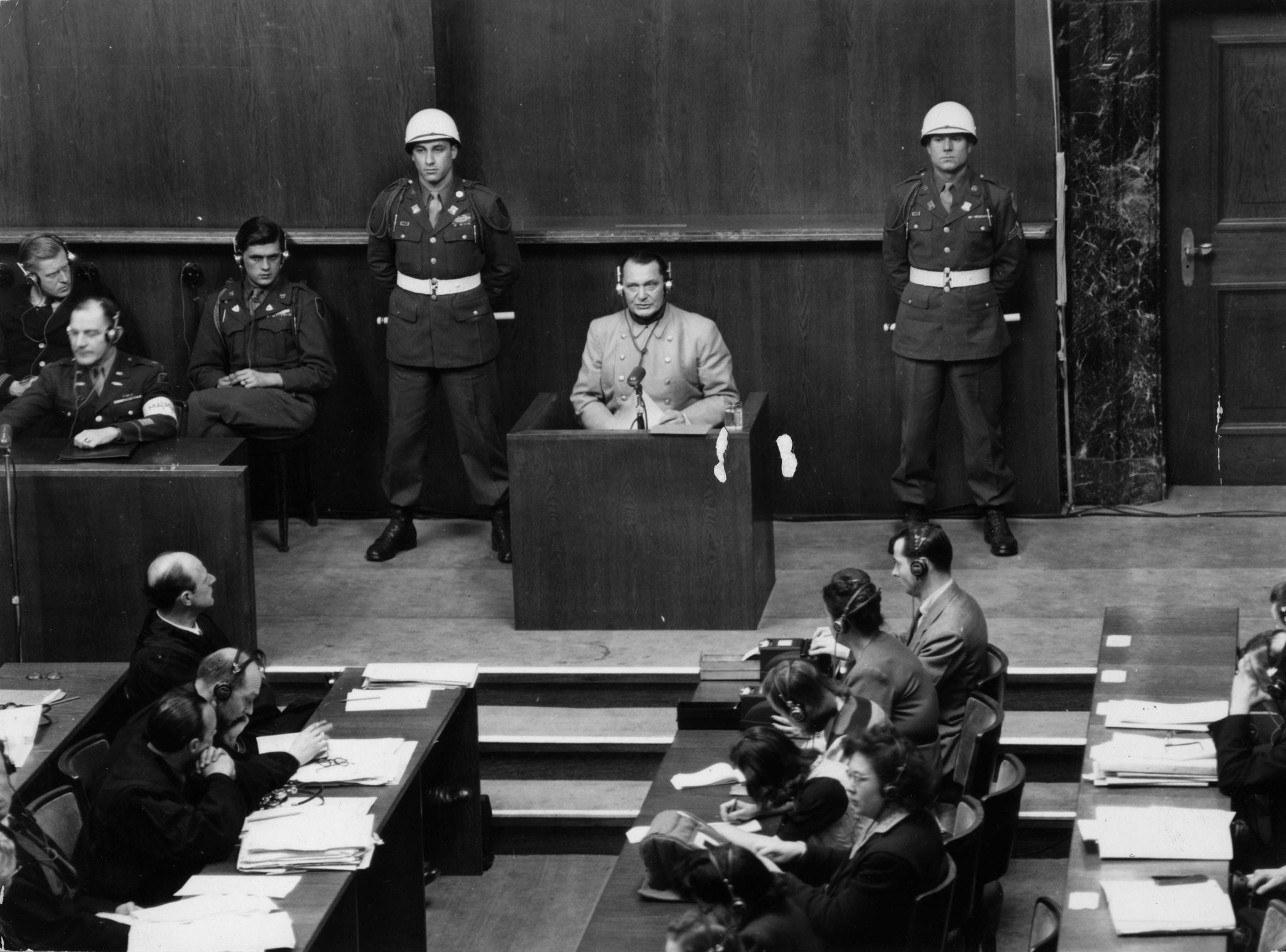a personal perspective on the pros and cons of putting nazi generals on trials for war crimes