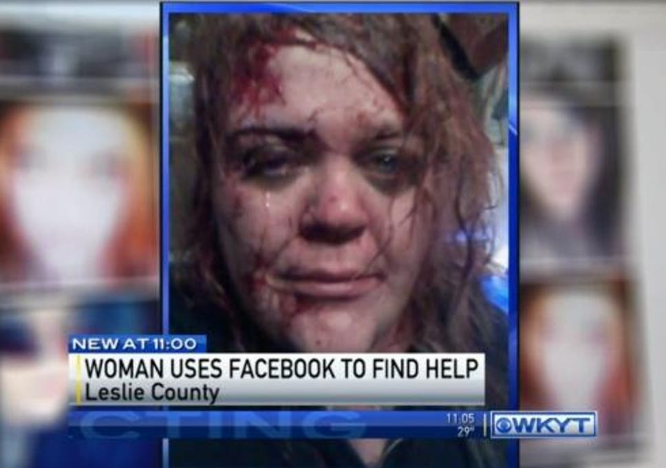 Facebook selfie alerts police and saves a woman's life in