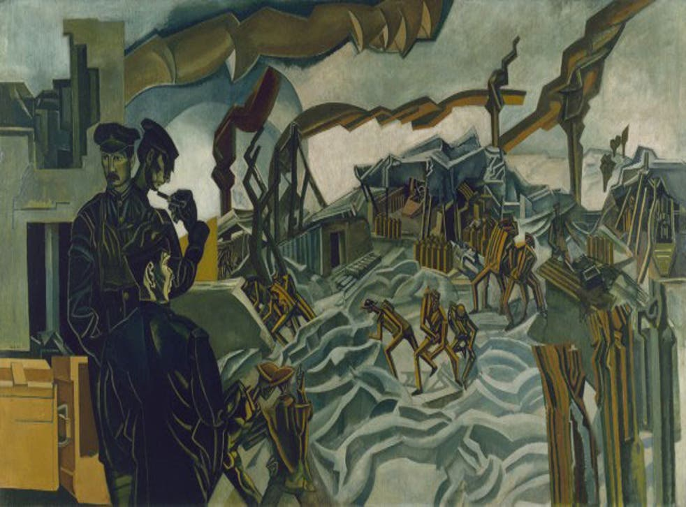 'Battery Shelled' by Wyndham Lewis in Truth and Memory