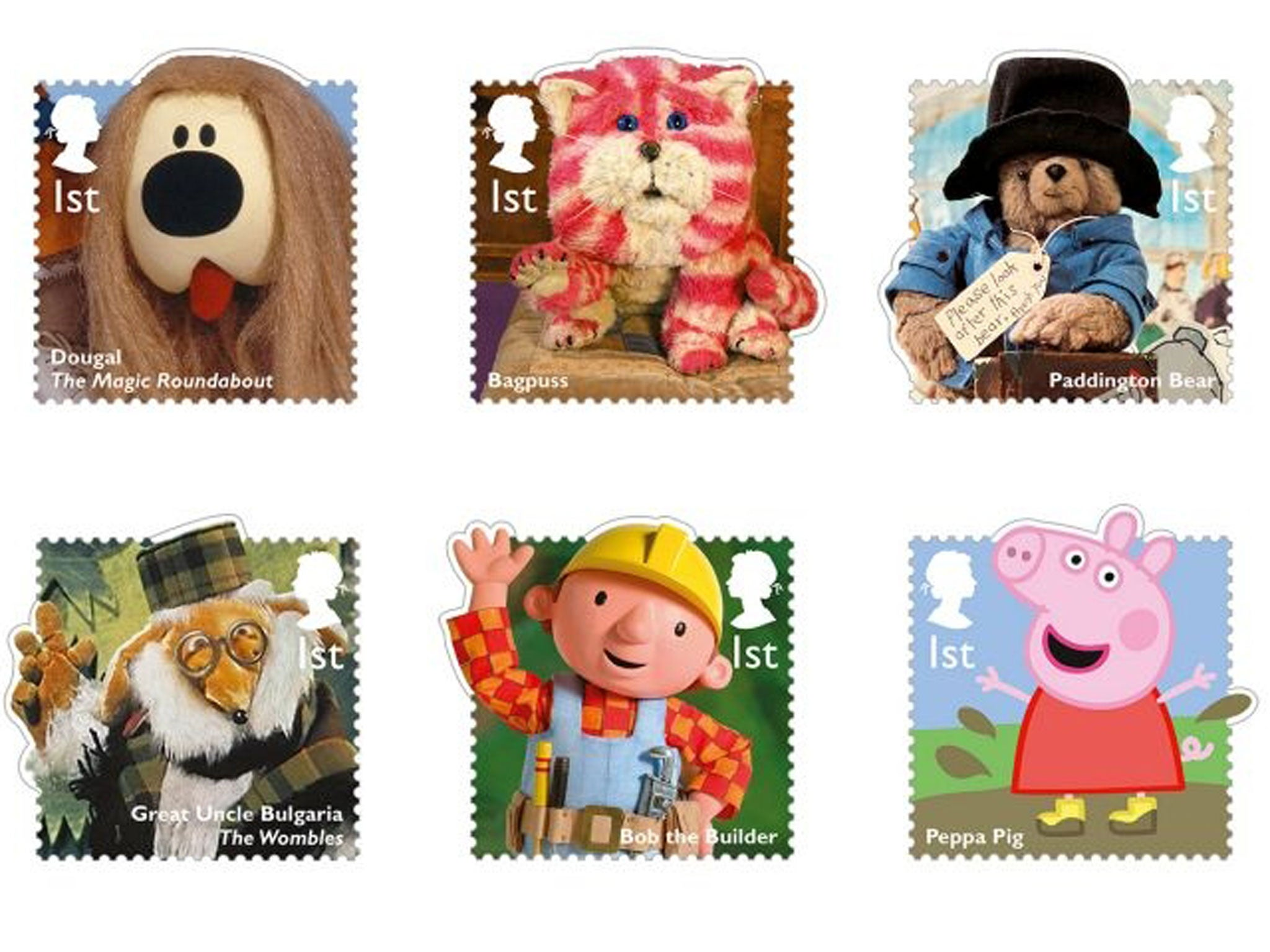 Children's TV characters to appear on stamps | The Independentindependent_brand_ident_LOGOUntitled